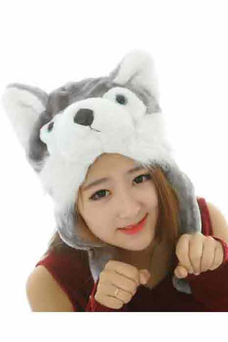 Husky-Wolf-Dog Hat