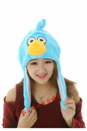 Angry Bird Hat  - Blue