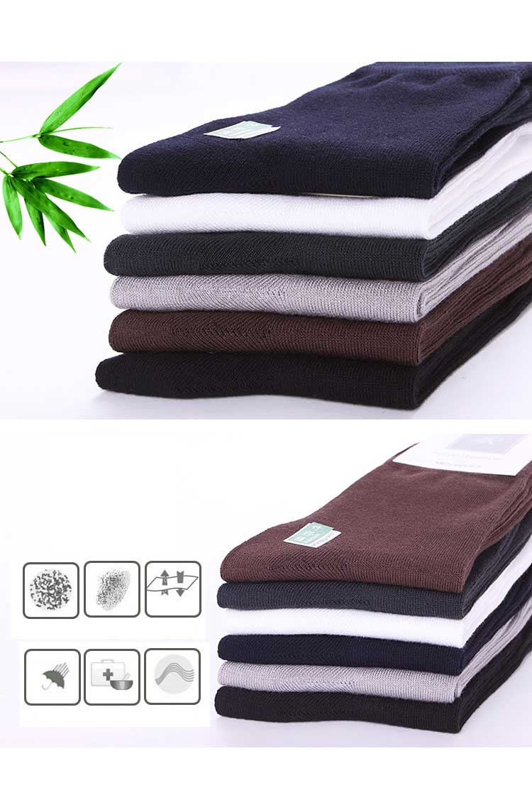 Men Dress Bamboo Socks