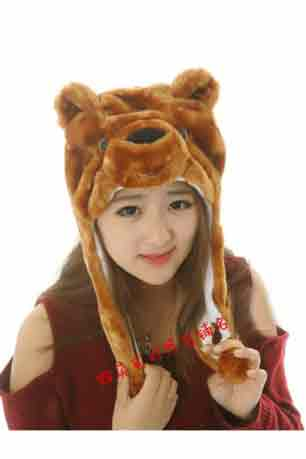 Bear Hat - Brown