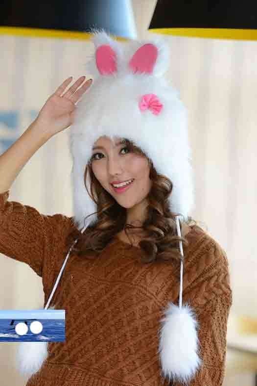 Rabbit Hat - White